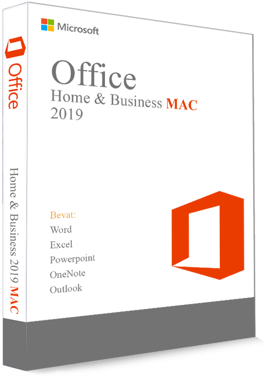 Microsoft Office 2019 Home & Business voor Mac - Productcode (Key)