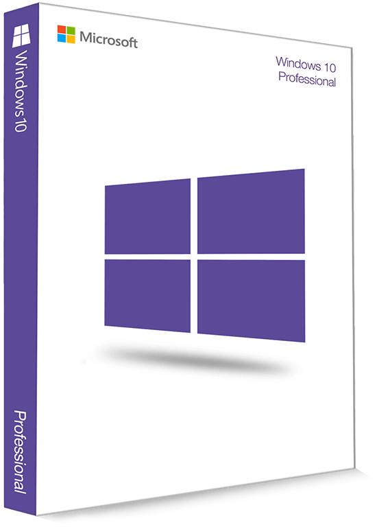 Microsoft Windows 10 Professional 32/64 Bit - Productcode (Key)
